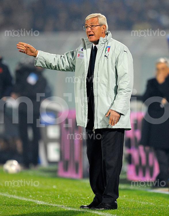 Fussball Nationalmannschaft :  Saison   2009/2010    14.11.2009 Freundschaftsspiel , Italien - Niederlande , Holland , ITA - NED ,  Trainer Marcello LIPPI (ITA)