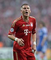 FUSSBALL   SAISON 2011/2012   CHAMPIONS LEAGUE FINALE FC Bayern Muenchen - FC Chelsea  19.05.2012 Bastian Schweinsteiger (FC Bayern Muenchen)  emotional