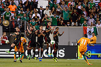 Ivory Coast forward Didier Drogba (11) takes a free kick. Mexico defeated the Ivory Coast 4-1 during an international friendly at MetLife Stadium in East Rutherford, NJ, on August 14, 2013.