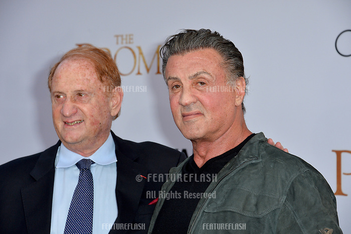 Sylvester Stallone &amp; Mike Medavoy at the premiere for &quot;The Promise&quot; at the TCL Chinese Theatre, Hollywood. Los Angeles, USA 12 April  2017<br /> Picture: Paul Smith/Featureflash/SilverHub 0208 004 5359 sales@silverhubmedia.com