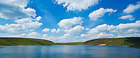 Scenic view of Claerwen Reservoir, Eland Valley, Powys, Wales