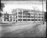 Frederick Stone negative. Auto Tire Co. Bldg. Oakville.<br />Undated photo