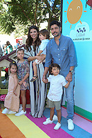 CULVER CITY, CA - SEPTEMBER 24: Ali Landry, Alejandro Monteverde, Estela Monteverde, Marcelo Monteverde, Valentin Monteverde attends the Step2 & Favored.by Present The 5th Annual Red Carpet Safety Awareness Event at Sony Pictures Studios on September 24, 2016 in Culver City, California. (Credit: Parisa Afsahi/MediaPunch).