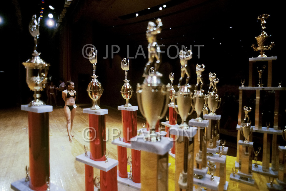 New York, June 20, 1981. The Ms. Empire State competition.