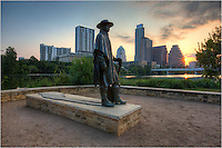 Stevie Ray Vaughan is a local hero around Austin, Texas. His statue sits along the hike and bike trails of Zilker Park that circle Lady Bird Lake. He resides in the shadows of the high rises and skyscrapers of downtown, but his presence at times seems just as large.