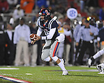 Ole Miss quarterback Nathan Stanley (12) vs. Louisiana-Lafayette in Oxford, Miss. on Saturday, November 6, 2010. Ole Miss won 43-21.