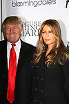 Donald Trump & wife Melania at the Figure Skating in Harlem  - the 2011 Skating with the Stars on April 4, 2011 at Wollman Rink, Central Park, New York City, New York. (Photo by Sue Coflin/Max Photos)