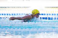 Santa Clara, California - Friday June 3, 2016: Celina Li of California Aquatics races in the Women's 400 LC Meter IM A final.