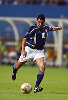 Claudio Reyna. The USA lost 3-1 against Poland in the FIFA World Cup 2002 in Korea on June 14, 2002.