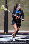 Towson, MD - March 5, 2017: Florida Gators Mollie Stevens (17) in action during game between Towson and Florida at  Minnegan Field at Johnny Unitas Stadium  in Towson, MD. March 5, 2017.  (Photo by Elliott Brown/Media Images International)