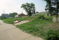 1991 July 15..Conservation.MidTown Industrial..OVERGROWN LOT.26TH STREET.LOOKING EAST.BLOCK 1 PARCEL 2 & 3...NEG#.NRHA#..