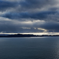 View towards Rona and Raasay, Isle of Skye, Scotland