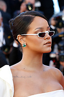 """Rihanna at the """"Okja"""" premiere during the 70th Cannes Film Festival at the Palais des Festivals on May 19, 2017 in Cannes, France. (c) John Rasimus /MediaPunch ***FRANCE, SWEDEN, NORWAY, DENARK, FINLAND, USA, CZECH REPUBLIC, SOUTH AMERICA ONLY***"""
