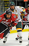 14 November 2008: University of Vermont Catamount forward and Team Captain Dean Strong, a Senior from Mississauga, Ontario, in action against the Northeastern University Huskies at Gutterson Fieldhouse in Burlington, Vermont. The Catamounts fell to the Huskies 5-3...Mandatory Photo Credit: Ed Wolfstein Photo