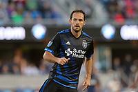 San Jose, CA - Wednesday May 17, 2017: Marco Ureña during a Major League Soccer (MLS) match between the San Jose Earthquakes and Orlando City SC at Avaya Stadium.