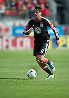 05 May 2012: D.C. United midfielder Branko Boskovic #8 in action during an MLS game between DC United and Toronto FC at BMO Field in Toronto..D.C. United won 2-0.