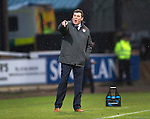 Dundee v St Johnstone....08.11.14   SPFL<br /> Tommy Wright shouts at his players<br /> Picture by Graeme Hart.<br /> Copyright Perthshire Picture Agency<br /> Tel: 01738 623350  Mobile: 07990 594431