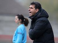 Sparta Prague manager Dusan Zovinec - Arsenal Ladies vs Sparta Prague - UEFA Women's Champions League at Boreham Wood FC - 11/11/09 - MANDATORY CREDIT: Gavin Ellis/TGSPHOTO - Self billing applies where appropriate - Tel: 0845 094 6026