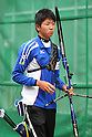 Naoya Oniyama (JPN), .April 22, 2012 - Archery : .Archery Japan National Team Selection match for The World Cup Ogden 2012 .at JISS Archery Field, Tokyo, Japan. .(Photo by Daiju Kitamura/AFLO SPORT) [1045]