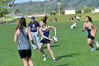 Touch Junior Hutt Valley Girls Division 1 Upper Hutt College 1 v HVHS 1, 6/11/2012<br />