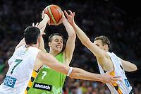 20140818: LTU, Basketball - Friendly match, Slovenia vs Lithuania