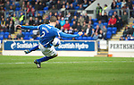 St Johnstone v Inverness Caley Thistle...15.10.11   SPL Week 11.Dave Mackay scores to mak it 2-0.Picture by Graeme Hart..Copyright Perthshire Picture Agency.Tel: 01738 623350  Mobile: 07990 594431