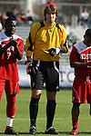 15 November 2009: NC State's Christopher Widman. The University of Virginia Cavaliers defeated the North Carolina State University Wolfpack at WakeMed Stadium in Cary, North Carolina in the Atlantic Coast Conference Men's Soccer Tournament Championship game.