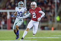 Stanford, CA - September 2, 2016: Trenton Irwin during the Stanford vs Kansas State football game at Stanford Stadium. The Cardinal defeated the Wildcats 26-13.