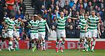 Leigh Griffiths celebrates his goal