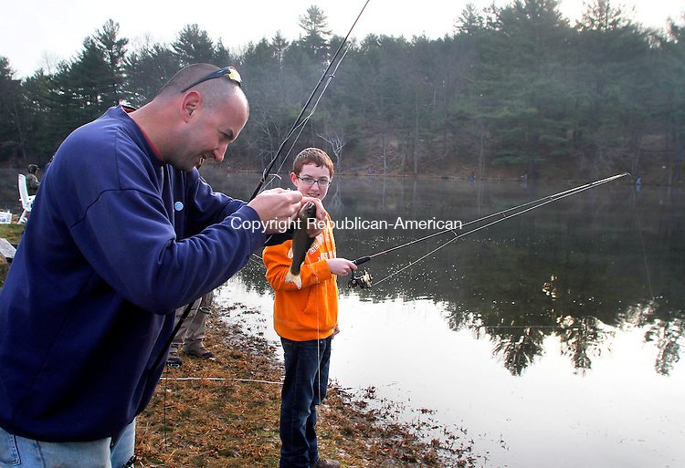 Trout fishing season republican american photos for Ct fishing season
