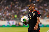Mexico defender Carlos Salcido (3). Mexico defeated the Ivory Coast 4-1 during an international friendly at MetLife Stadium in East Rutherford, NJ, on August 14, 2013.