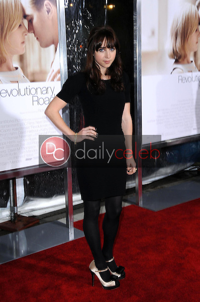 Zoe Kazan <br /> at the World Premiere of 'Revolutionary Road'. Mann Village Theater, Westwood, CA. 12-15-08<br /> Dave Edwards/DailyCeleb.com 818-249-4998