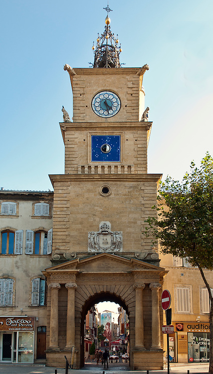 Clock tower in salon de provence phil haber photography - Magasin deguisement salon de provence ...