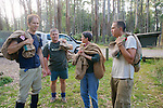 Earthwatch Team Preparing To Release Possums