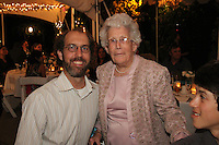 Mindy and Joel's Wedding October 14, 2011. Jason and Grandmother.