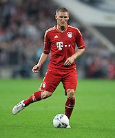 FUSSBALL   1. BUNDESLIGA  SAISON 2011/2012   7. Spieltag FC Bayern Muenchen - Bayer 04 Leverkusen          24.09.2011 Bastian Schweinsteiger (FC Bayern Muenchen)