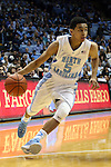 14 November 2014: North Carolina's Marcus Paige. The University of North Carolina Tar Heels played the North Carolina Central University Eagles in an NCAA Division I Men's basketball game at the Dean E. Smith Center in Chapel Hill, North Carolina. UNC won the game 76-60.