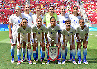 USWNT vs Sweden, August 12, 2016