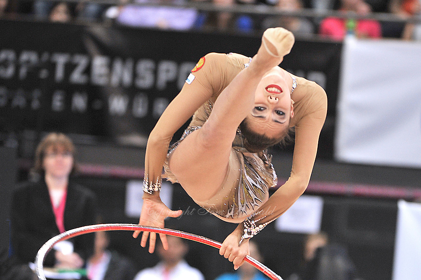 March 23, 2014 - Stuttgart, Germany - RITA MAMUN of Russia performs at Stuttgart World Cup.