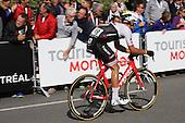 Cycling: 7th Grand Prix Cycliste de Montreal 2016.  Jasper Stuyven of Belgium for Trek Segafredo . Sunday September 11 2016, Montreal Qc