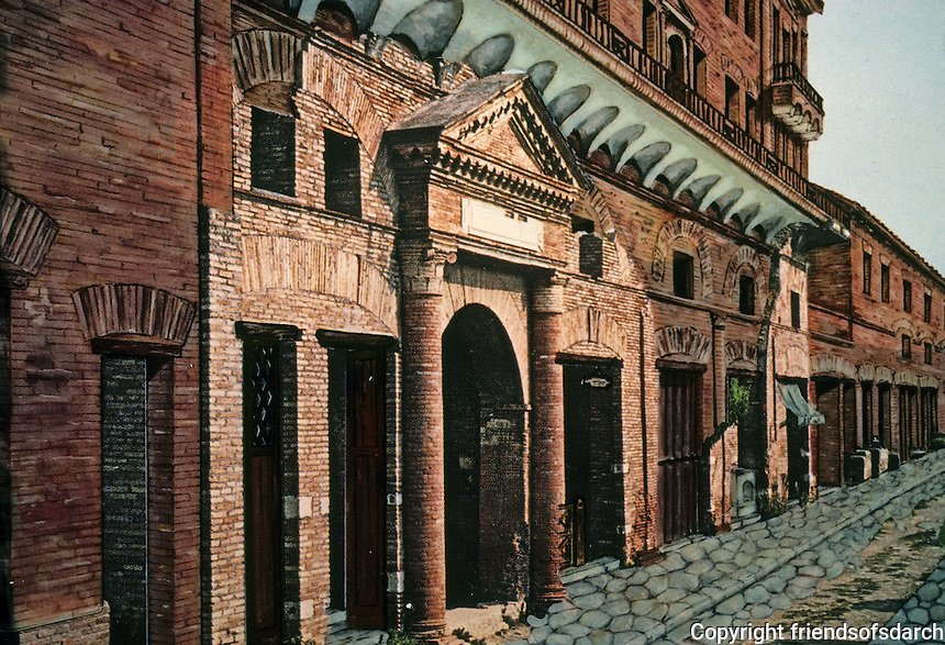 Italy: Ostio--Warehouse of two Greeks. Photo '83.