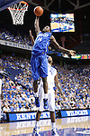 Michael Kidd-Gilchrist dunks the ball at the Alumni Charity Basketball Game at Rupp Arena in Lexington, Ky., on Saturday, September 15, 2012. Photo by Tessa Lighty | Staff
