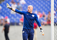 Baltimore, MD - July 18, 2015:  The USMNT defeated Cuba 6-0 during the quarterfinals of the Gold Cup at M&T Bank Stadium.