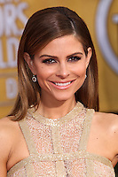 LOS ANGELES, CA - JANUARY 18: Maria Menounos at the 20th Annual Screen Actors Guild Awards held at The Shrine Auditorium on January 18, 2014 in Los Angeles, California. (Photo by Xavier Collin/Celebrity Monitor)