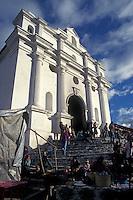 The Church of Santo Tomas in Cichicastenango, Guatemala