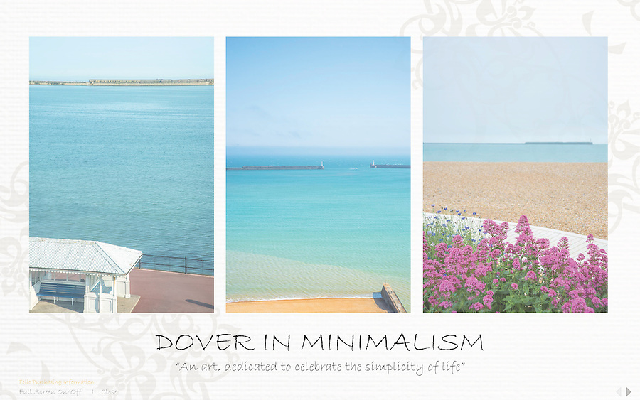 Dover In Minimalism<br /> The &quot;Dover In Minimalism&quot; project, is an inspiration to capture the peaceful and calmness of the coastal atmosphere located in UK. It is an experience that I've encountered while I was in Dover, calling us to appreciate the beauty and calmness in our daily life.