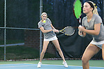 21 February 2017: ASU's McKayla Zupan. The University of North Carolina Tar Heels hosted the Appalachian State University Mountaineers at the Cone-Kenfield Tennis Center in Chapel Hill, North Carolina in a Women's College Tennis match. North Carolina won the match 6-1.