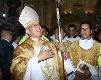 Monseñor Misael Vacca Ramírez posesión Diocesis Duitama / Sogamoso, Colombia. 06-06-2015