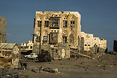 Yemen. Mokah.  .ghost town and former coffee capital   /  ville fant&ocirc;me et ancienne capitale du caf&eacute; Mokah   Yemen
