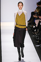 Fei Fei Sun walks the runway in an out by Max Azria, for the BCBGMAXAZRIA Fall 2011 fashion show, during Mercedes Benz Fashion Week.